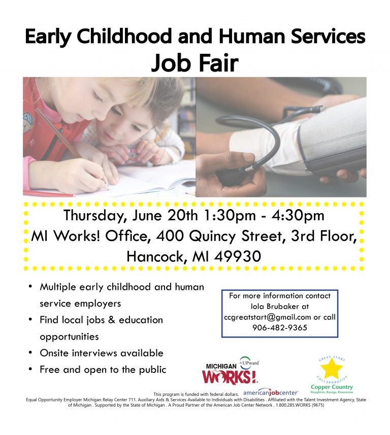 Early Childhood and Human Services Job Fair